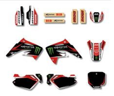 Kit déco Monster Honda 85 CR de 2003 à 2014