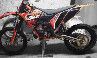 KTN 250 sx 2008 Jagermeister